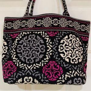 Vera Bradley Tote Handbag in Canterberry Magenta